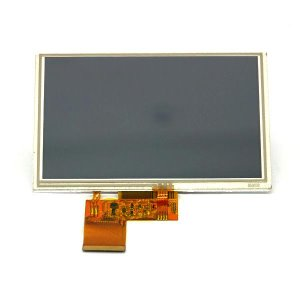 LT050C-01AT (5.0 inch 800 (RGB) x 480 PIXELS TFT LCD WITH TOUCH PANEL)/감압식(Resistive) 터치패널 포함